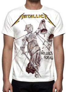 METALLICA - And The Justice For All - Camiseta de Rock