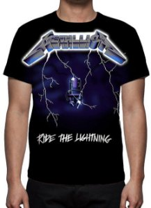 METALLICA - Ride the Lightning Mod 2 - Camiseta de Rock