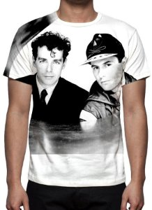 PET SHOP BOYS - Camiseta de Música