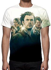 NO CORAÇÃO DO MAR - Camiseta de Cinema