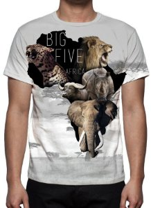 ANIMAIS - Big Five Africa - Camisetas Variadas