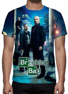 BREAKING BAD - Famílias - Camiseta de Séries