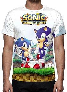 SONIC - Generations - Camiseta de Games