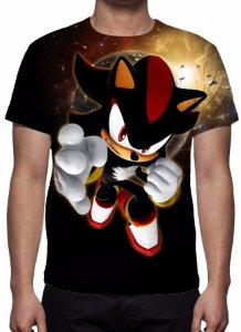 SONIC - Shadow - Camiseta de Games