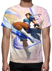 STREET FIGHTER 5 - Chun Li - Camisetas de Games