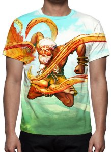 STREET FIGHTER 5 - Dhalsin - Camisetas de Games