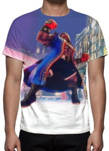 STREET FIGHTER 5 - Mike Bison Balrog - Camisetas de Games