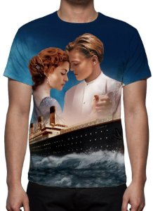 TITANIC - Modelo 2 - Camiseta de Cinema