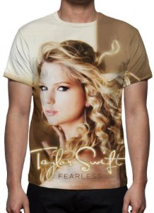 TAYLOR SWIFT - Fearless -  Camiseta de Música