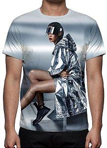 RIHANNA - Modelo 3 - Camiseta de Música