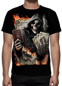 REAPER MORTE - Blackjack - Camiseta Variada