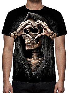 REAPER MORTE - Love - Camiseta Variada