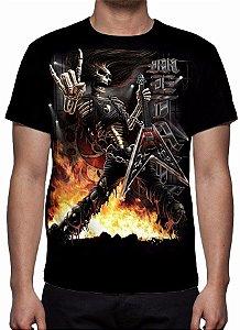 REAPER MORTE - Rock Finger - Camiseta Variada