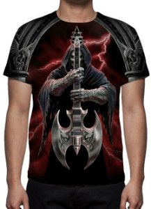 REAPER MORTE - Slayer - Camiseta Variada