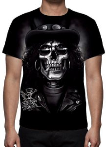 REAPER MORTE - Slash Face - Camiseta Variada