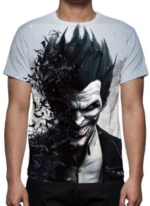DC GAMES - Batman Arkham City Coringa - Camiseta de Games