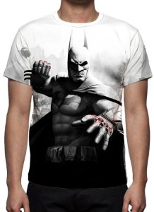 DC GAMES - Batman Arkham City - Camiseta de Games