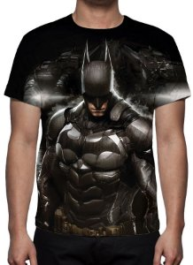 DC GAMES - Batman Arkham Knight Modelo 1 - Camiseta de Games