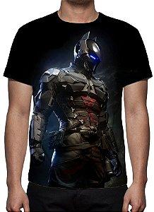 DC GAMES - Batman Arkham Knight Modelo 2 - Camiseta de Games
