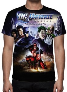 DC GAMES - DC Universe Online The Next Legend is You - Camiseta de Games
