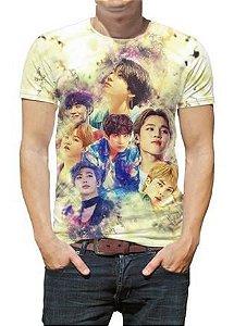 BTS Bantang Boys - Amarela - Camiseta de KPOP