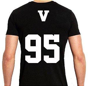 BTS Bantang Boys - Army Preta V - Camiseta de Kpop