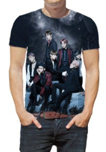 BTS Bantang Boys - Preta - Camiseta de Kpop
