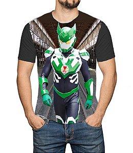 TIMERMAN - Live Action Modelo 2 - Camiseta de Heróis Brasileiros