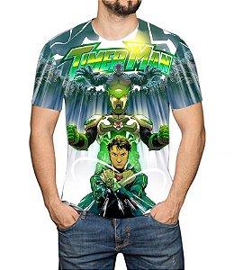 TIMERMAN - Modo Timer - Camiseta de Heróis Brasileiros