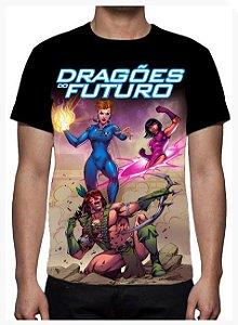 KIMERA  - Dragões do Futuro Capa 2 - Camiseta de Heróis Brasileiros