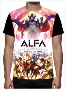 KIMERA  - Tropa Alfa O Final - Camiseta de Desenhos