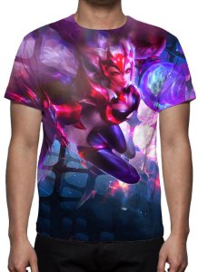 LEAGUE OF LEGENDS - Ahri Desafiante - Camiseta de Games