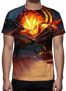 LEAGUE OF LEGENDS - Diana Infernal - Camiseta de Games