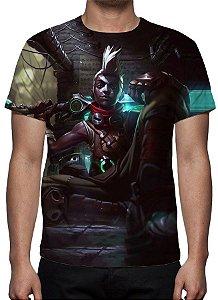 LEAGUE OF LEGENDS - Ekko rapaz que Estilhaçou o Tempo - Camiseta de Games