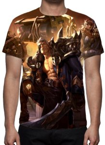LEAGUE OF LEGENDS - Garen Almirante Fugitivo - Camiseta de Games