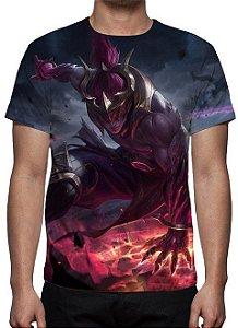 LEAGUE OF LEGENDS - Lee Sin Emissário da Escuridão - Camiseta de Games
