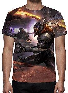 LEAGUE OF LEGENDS - Master Yi Projeto - Camiseta de Games