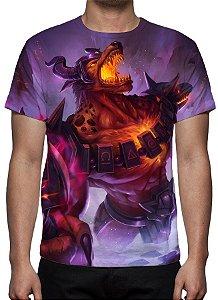 LEAGUE OF LEGENDS - Nasus Infernal - Camiseta de Games