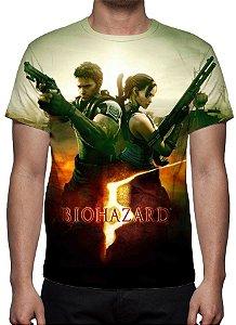 RESIDENT EVIL 5 - Modelo 2 - Camiseta de Games