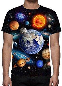 ESTAMPADAS - Sistema Solar - Camiseta Variada
