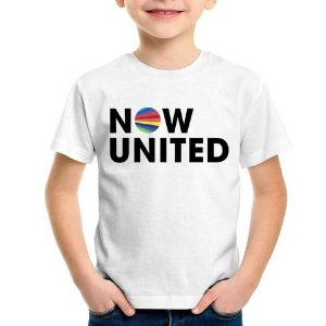 NOW UNITED - Camiseta de Musica