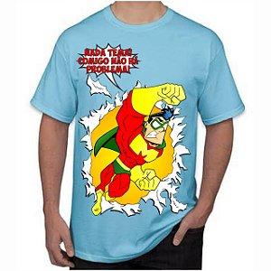 CAPITÃO MIOLO MOLE - Não Tema Azul - Camiseta de Heróis Brasileiros