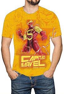 OS SE7E - Capitão Sarvel - Camiseta de Heróis Brasileiros