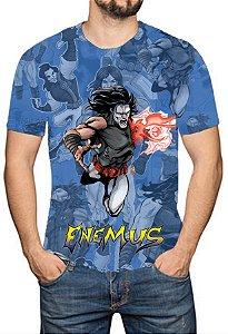 OS SE7E - Enemus - Camiseta de Heróis Brasileiros
