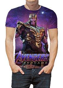 MARVEL - Vingadores Ultimato Thanos - Camisetas de Cinema