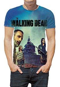 WALKING DEAD, The - Azul - Camiseta de Séries