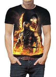 MORTAL KOMBAT X - Scorpion - Camiseta de Games