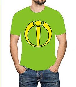 OS SE7E - Crânio Logo - Camiseta de Heróis Brasileiros
