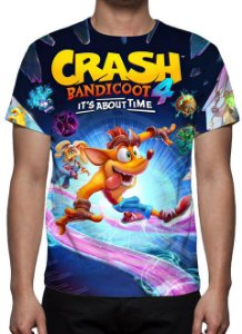 CRASH BANDICOOT 4 - It's About Time - Camiseta de Games