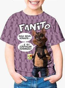 CADU ARTES - Fanito Siga Seus Sonhos Lilás - Camiseta de You Tubers